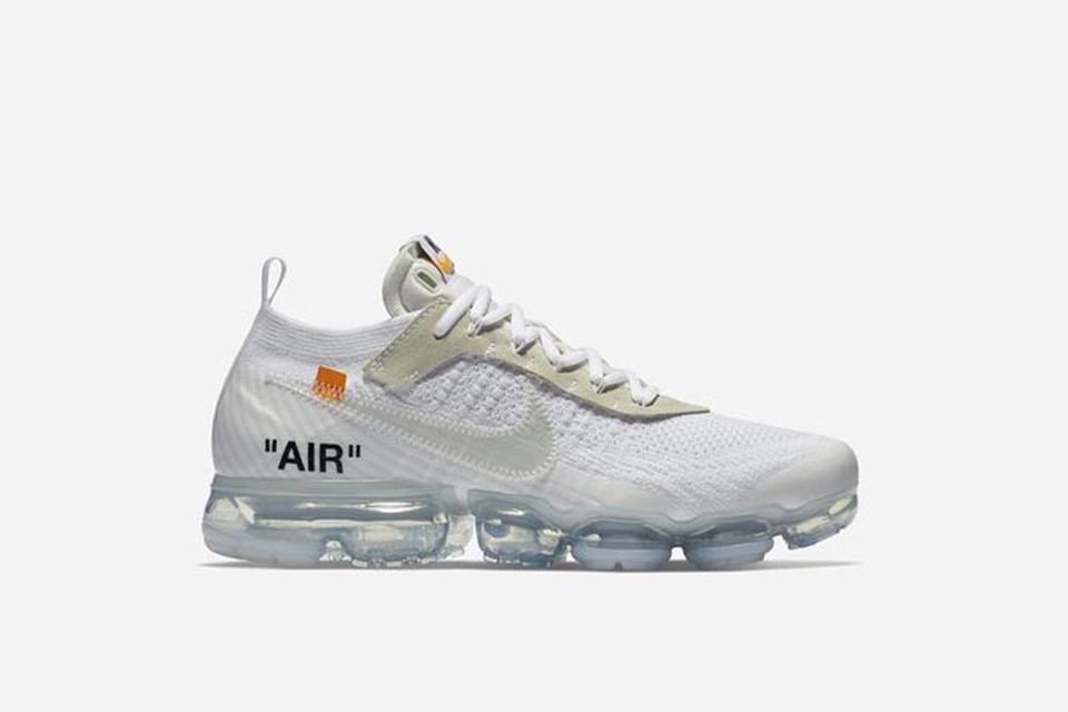 Moda Nike Air Vapormax Flyknit 2 Light Cream Bianca