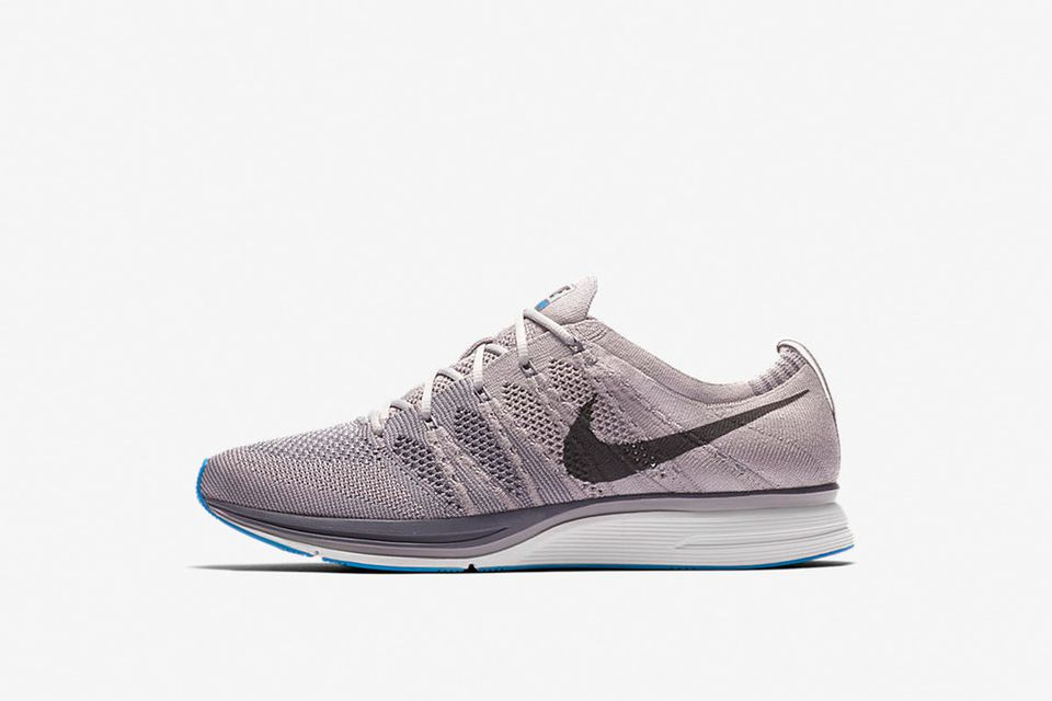 "Nike Flyknit Trainer ""Grey/White/Blue"""
